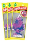 Lot 3 Désodorisants ARBRE MAGIQUE Berry Burst